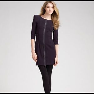 Theory Susan Classical Front Zip Dress